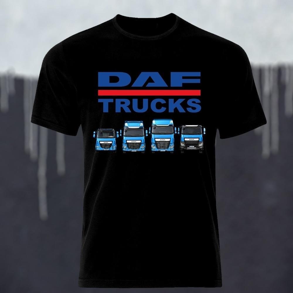 DAF carro del camión autotruck LKW Camion la camiseta para los hombres camiseta de las mujeres