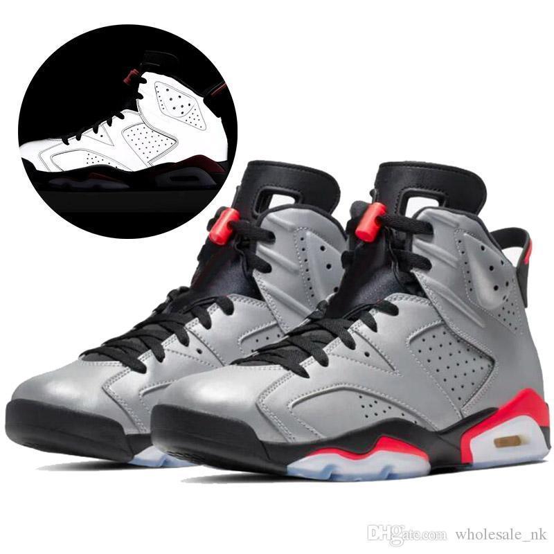 Chaussures réfléchissantes Réflexions d'un Chaussures Femmes Hommes Champion de basket-ball 2019 Noir infrarouge 6 UNC Oregon DMP Hommes Chaussures de 5,5 à 13