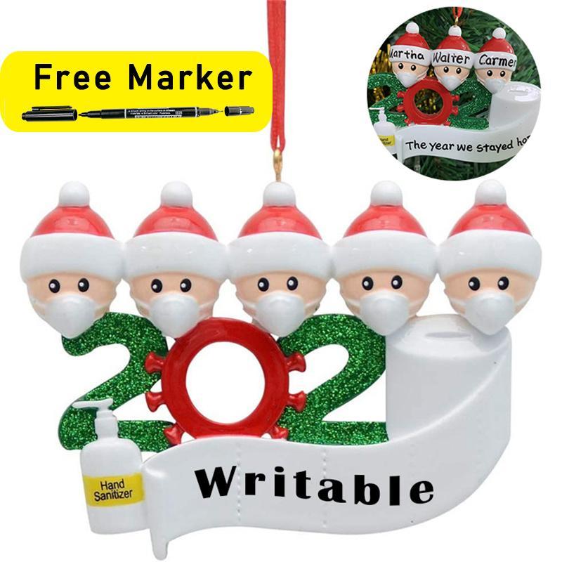 2020 cuarentena Partido Cumpleaños Decoración de Navidad el regalo personalizado del producto fuera de la Florida, la pandemia de -Social distanciamiento