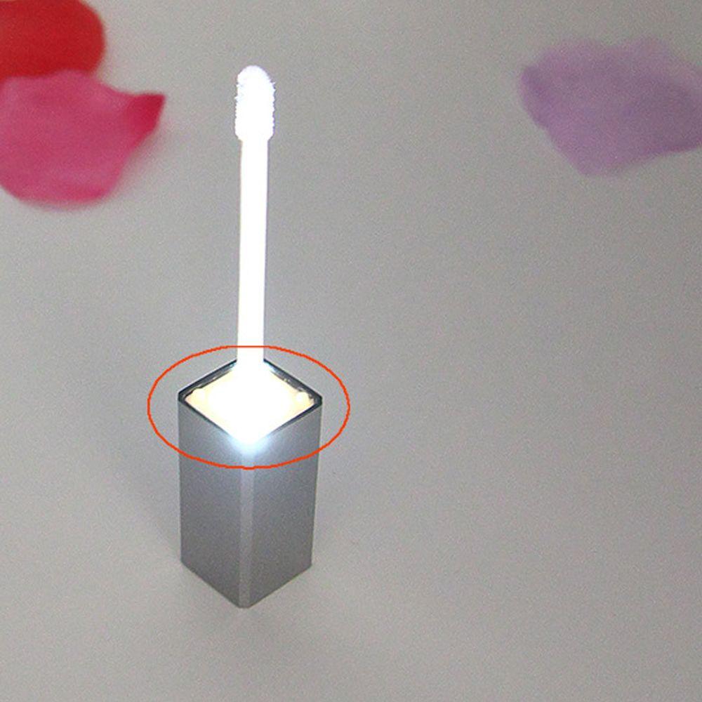 7 مل حاوية بلاستيكية مستحضرات التجميل مع الصمام ضوء مربع شفافة فارغة الشفاه لمعان أنبوب إعادة الملء زجاجة قبعات اللون المتاحة