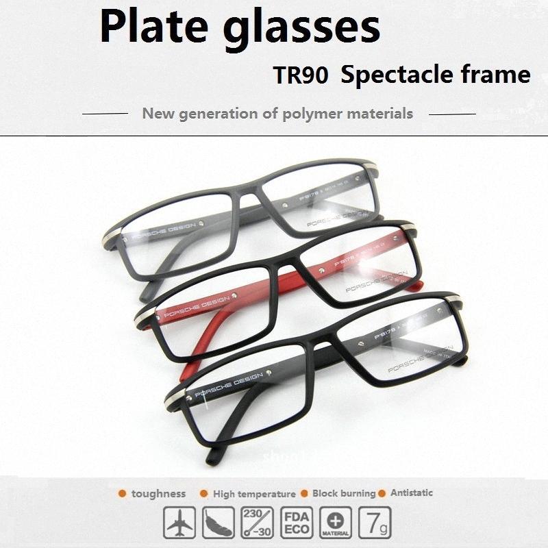 Wholesale-2020-Glasrahmen TR90 Mode Super Licht Full-Frame-anti-Strahlung Gläser Myopie Ebene P8178 Verschiffen frei xzfQ #