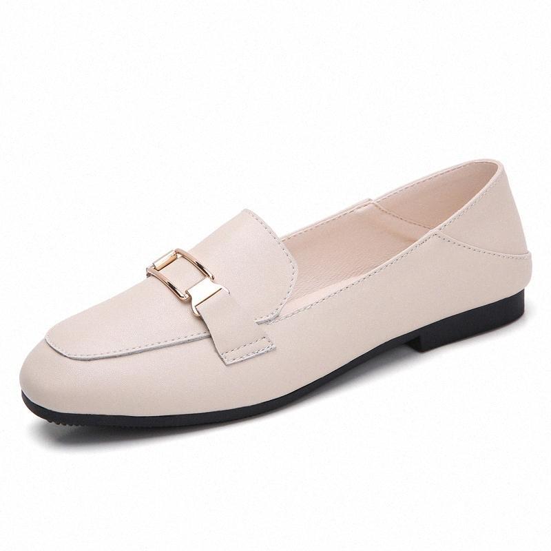 GOODRSSON Frühling und Herbst des neuen 2020 Doppel Wear Schuhe Frau Wilder Retro Satz Füße Loafers Big Size beiläufige einzelne Schuhe Orthopedi YaXd #