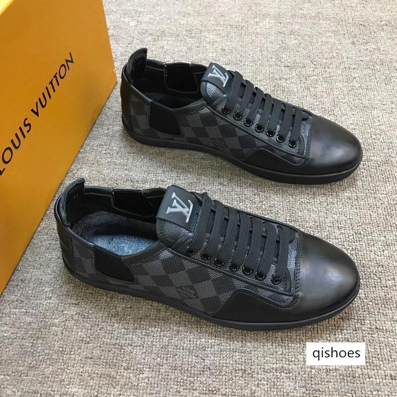 OFFSHORE BASKETS Mens Designer Lace Up Low Cut Chaussures Casual motif de contrôle Imprimer Taille 38-44