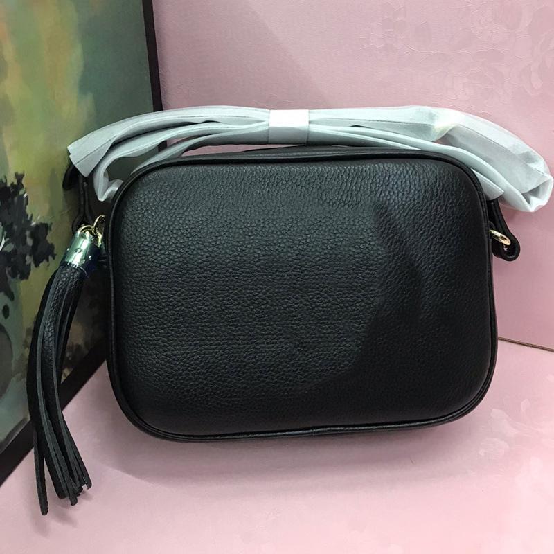 Lady Sac à main bandoulière Sacs à bandoulière classique Sac en cuir véritable mode ordinaire Double G Lettre de haute qualité Femmes Messenger Bag Zipper