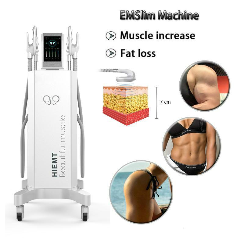 Professional Emslim Em Dispositivo muscular magra HIEMT eletromagnética não-invasiva Estimulação Emslim Em emagrecimento músculo queima de gordura Spa Uso