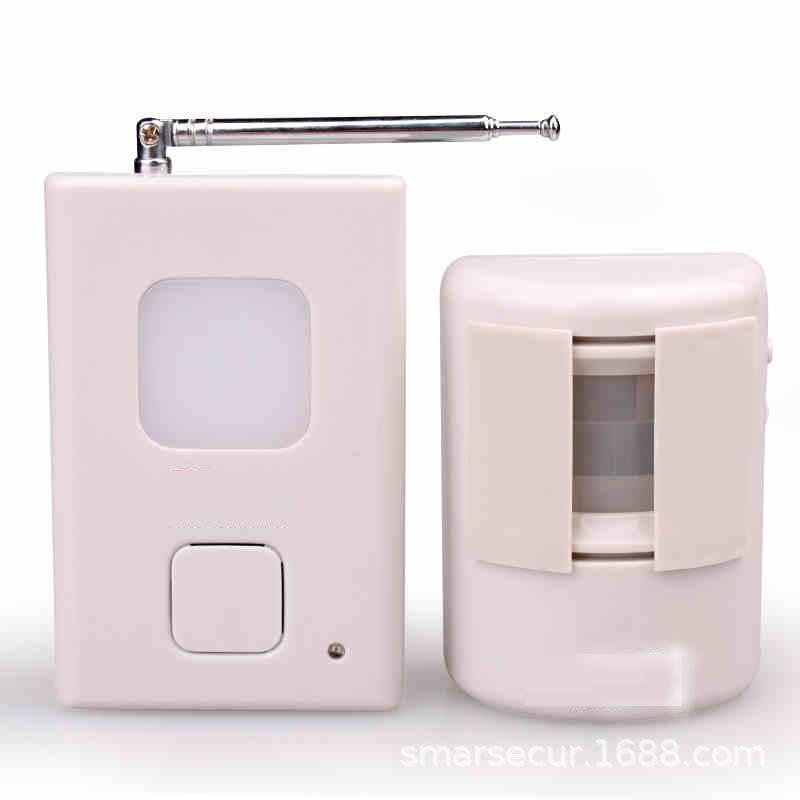 Spalato Tipo di benvenuto al dispositivo di benvenuto negozio di porta a infrarossi senza fili antifurto sensore di allarme campanello