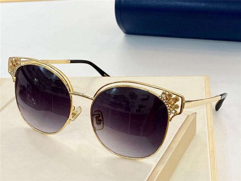 New Fashion Design Sunglasses SCH C24 Affascinante Cat Eye Shape Forma Unica Design Corona Design Cat Ores Noble ed elegante Protezione UV400 di alta qualità