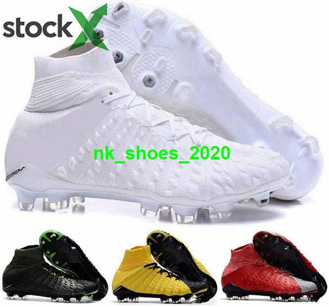 ramponi calcio de III Scarpe Boots 3 donne calcio maschile Phantom Mens AG FG tacchetti Hypervenom EUR 46 formato US 12 sfera nera bambini gialli verdi