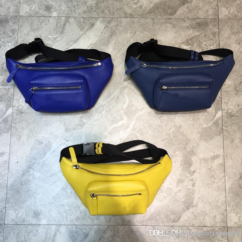 Top qualité unisexe taille Sacs mode simple cuir véritable petits hommes sacs Casual vente Hot femmes crossbag épaule sacs ceinture de loisirs