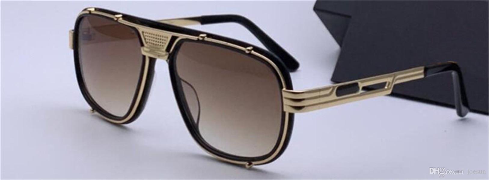 Nuovo disegno di modo occhiali da sole 665 semplice quadrato stile pieno di alta qualità UV400 occhiali di protezione personalità di stile di disegno