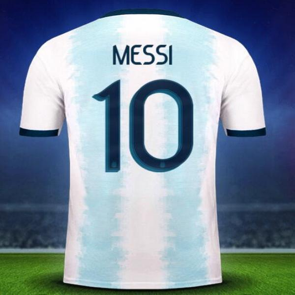 20-21 Argentina home 10 Messi 21 Dybala Thai Quality Soccer Jersey Shirts,Home Away Black Customized 11 Di Maria 22 L.MARTINE Soccer Wear
