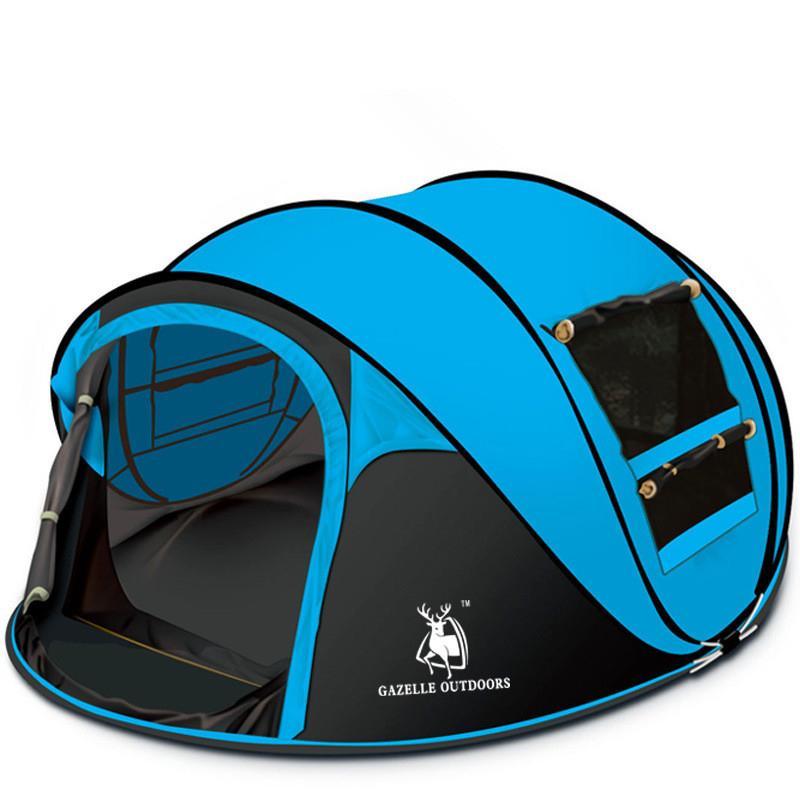 Tende e pensiline Tenda automatica Campeggio all'aperto Camping Hand Throw Apertura rapida Tempo libero di alta qualità 3-4 Persona Family Party Beach Boat-Tipo