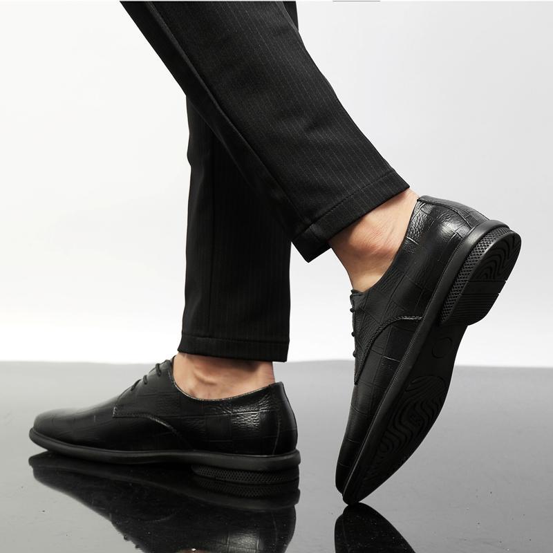 Elbise Ayakkabı Düz Bahar Informales Erkek Casual Siyah Adam Deri Moda Erkekler Spor Satış Ayakkabı 2021 Çılgınca Para Giyim