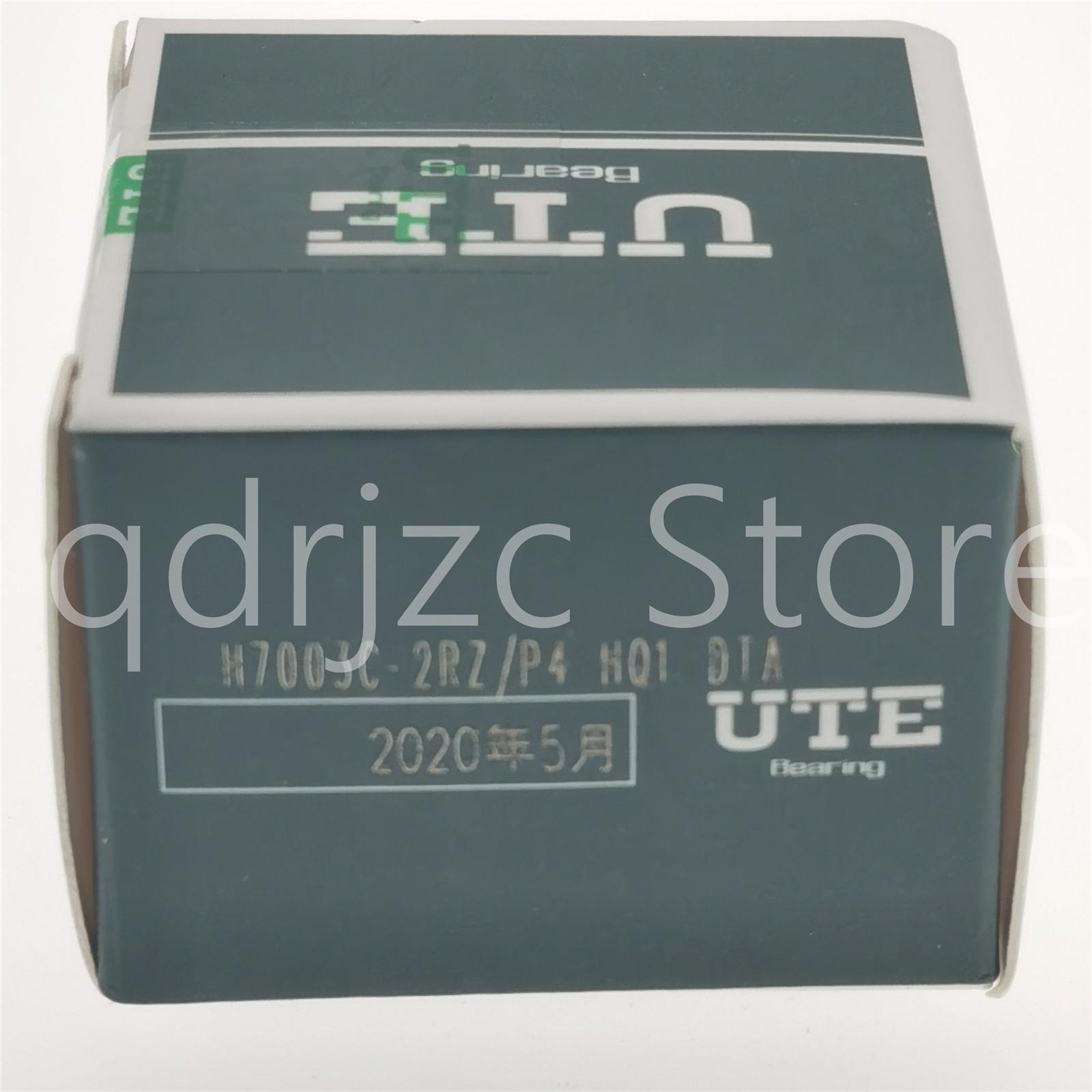 UTE billes à contact oblique palier étanche de la broche à billes en céramique H7003C-2RZ-P4-HQ1-DTA = 2X HCS7003-C-T-P4S-UL = S7003CE / HCP4ADTA