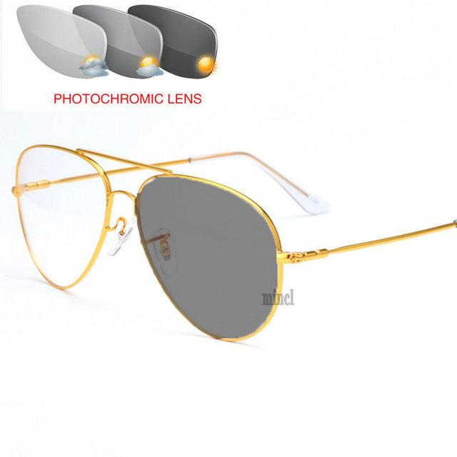 في الهواء الطلق اللونية نظارات القراءة الرجال التقدمي موضوع التركيز تلون قصو البصر مد البصر الطيار نظارات القراءة NX