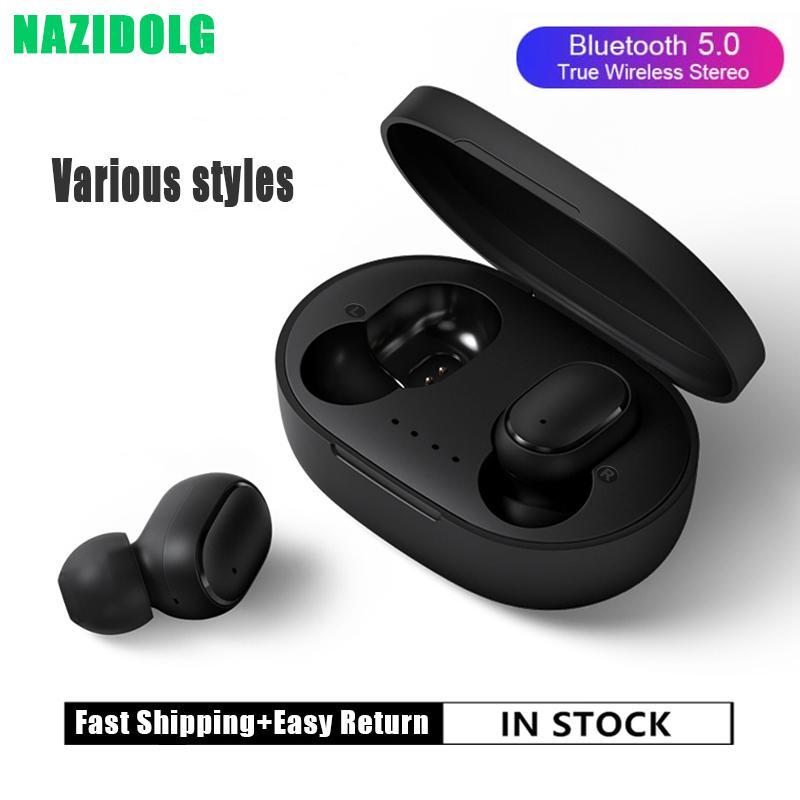 Drahtlose Bluetooth-Kopfhörer mit Mikrofon Sports wasserdichte drahtlose Kopfhörer Headsets Touch Control Musik für Telefon