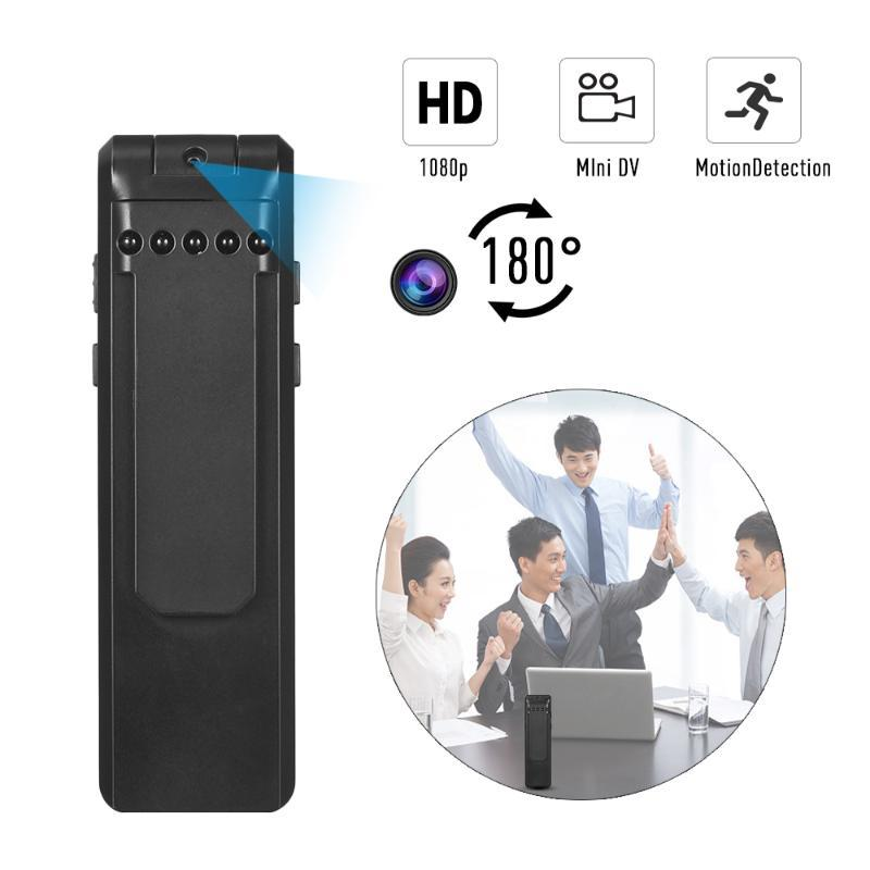 1080P Digital Camera Recorder Video Voice Recording Pen with Loop Recording Sound Activated Motion Detection Night Vision Light