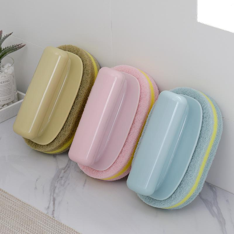 Limpeza com Ferramenta Bar Handle Strong escova de banho Casa de Banho telha cerâmica escova de cozinha descontaminação de limpeza da escova Pot