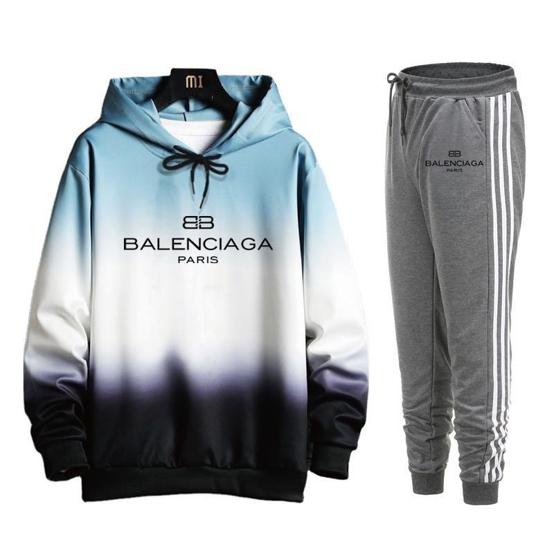 Balenciaga Designer Anzug Männer Luxus Sweat Anzüge Herbst Markemens Jogger Anzüge Jacke + Pants Sets Sport Frauenanzuege Hip Hop Sets