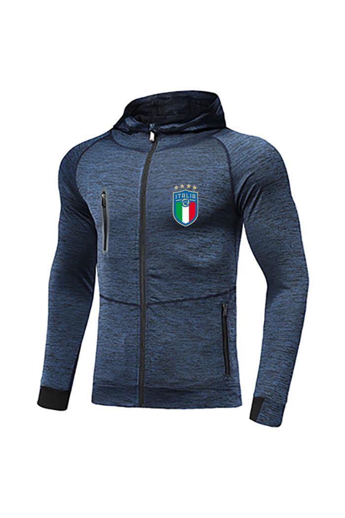 إيطاليا FC جديد كرة القدم سترات أفضل تصميم للرجال لكرة القدم رياضية ميسي جيرسي الكامل الرمز الاحماء لكرة القدم رياضية