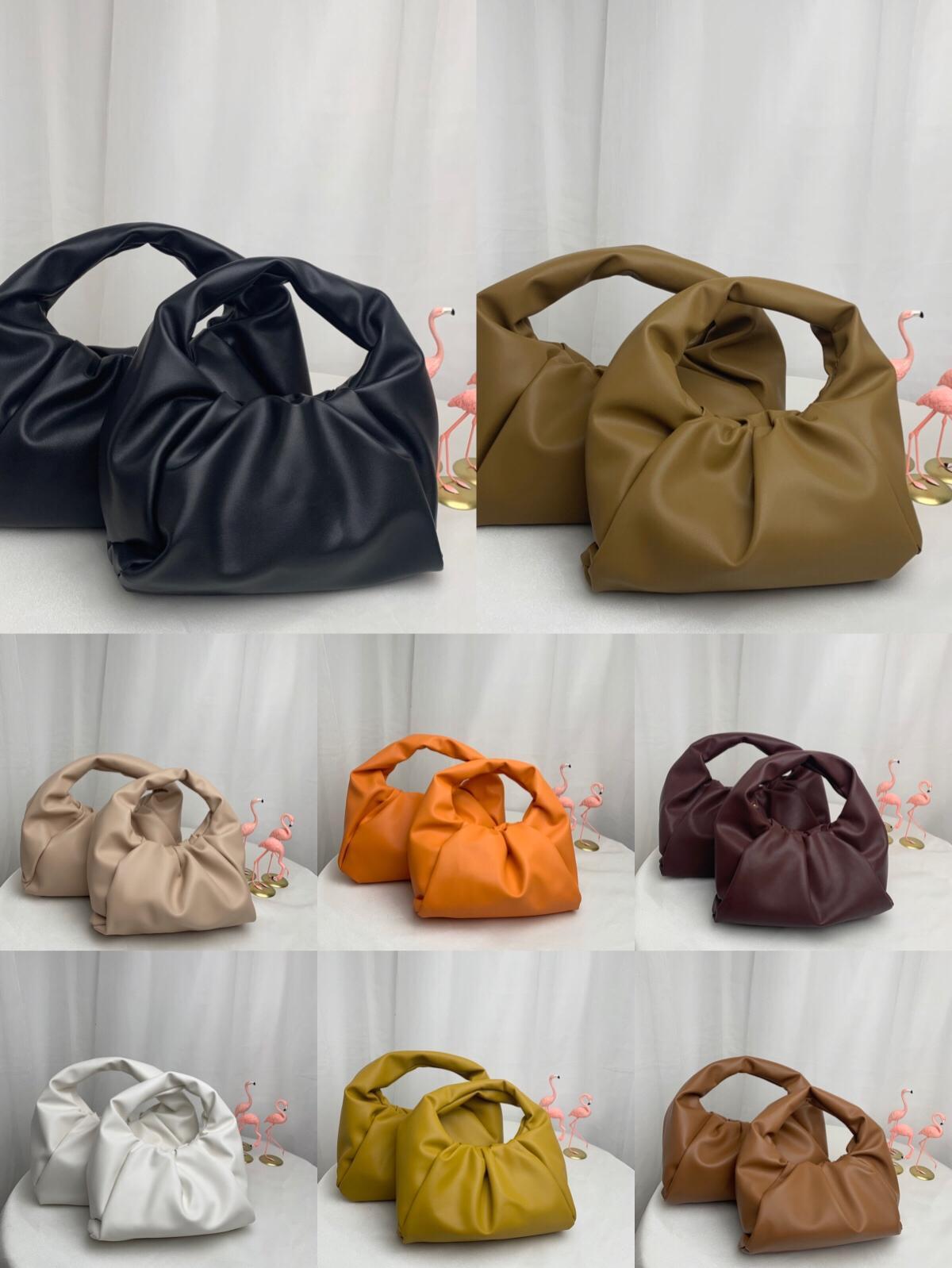 2020L'histoire poche des femmes de sacs nouveaux sacs fourre-tout mode sacs à main en cuir véritable sac à main Les femmes Pochette Pochette Nuage de haute qualité sacs à main F6wk #