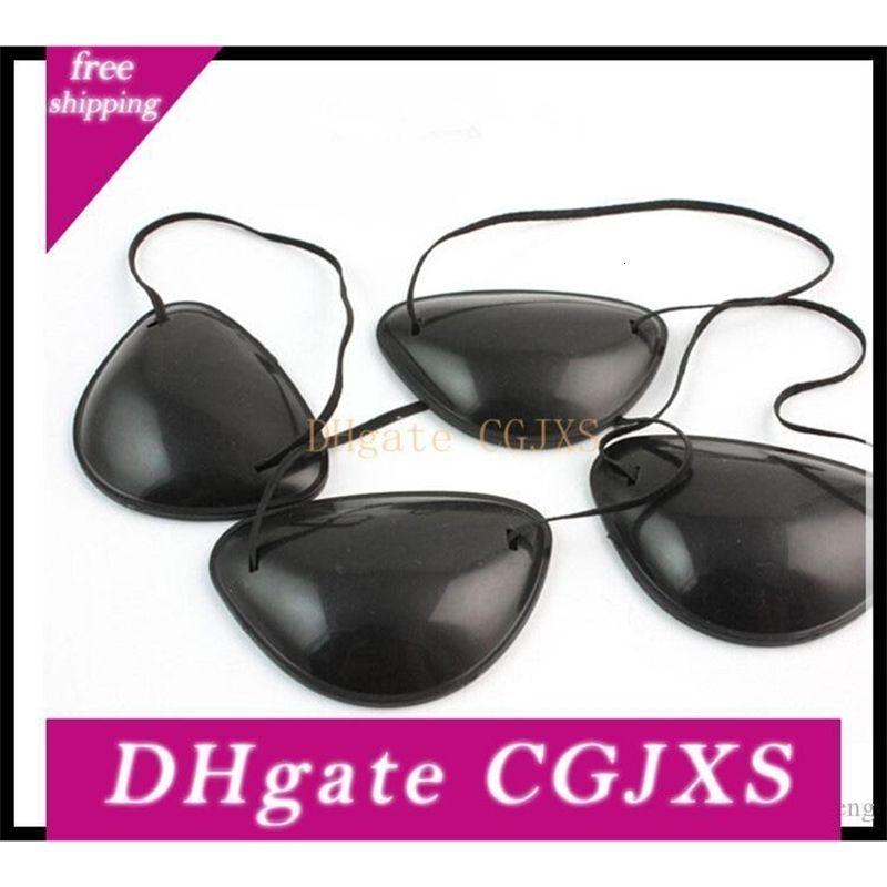 Schädel Plastic monokulare Pirate Patch-Cos und Performance Show Feiertags-Dekoration 4 Styles Abendkleid Augenmaske --- fp103