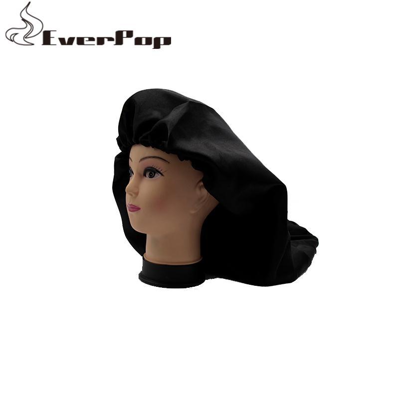50pcs Özel Logo Bakire Saç Koruma Saten Uzun Bonnet İnsan Saç Uzantıları Koruma Bonnet Sleeping
