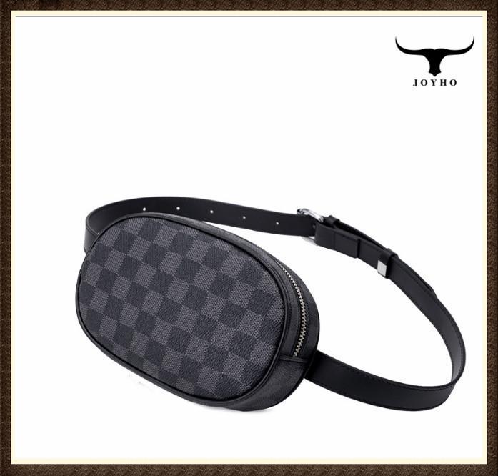Yeni Bel Çantası Fanny Paketi Kadınlar Kemer Çanta Trend Göğüs Bel Paketi kafes Deri Seyahat Paketi Bum Cep Telefonu Pocket Paketleri
