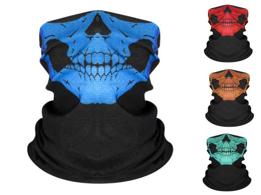 Filtre Tasarımcı Baskılı Mas # 360 ile Açık Abd Bayrağı Sihirli Headskull Eşarp Bandana Bisiklet Maskeler Baş Eşarplar Windproof Sport Yüz Maskesi