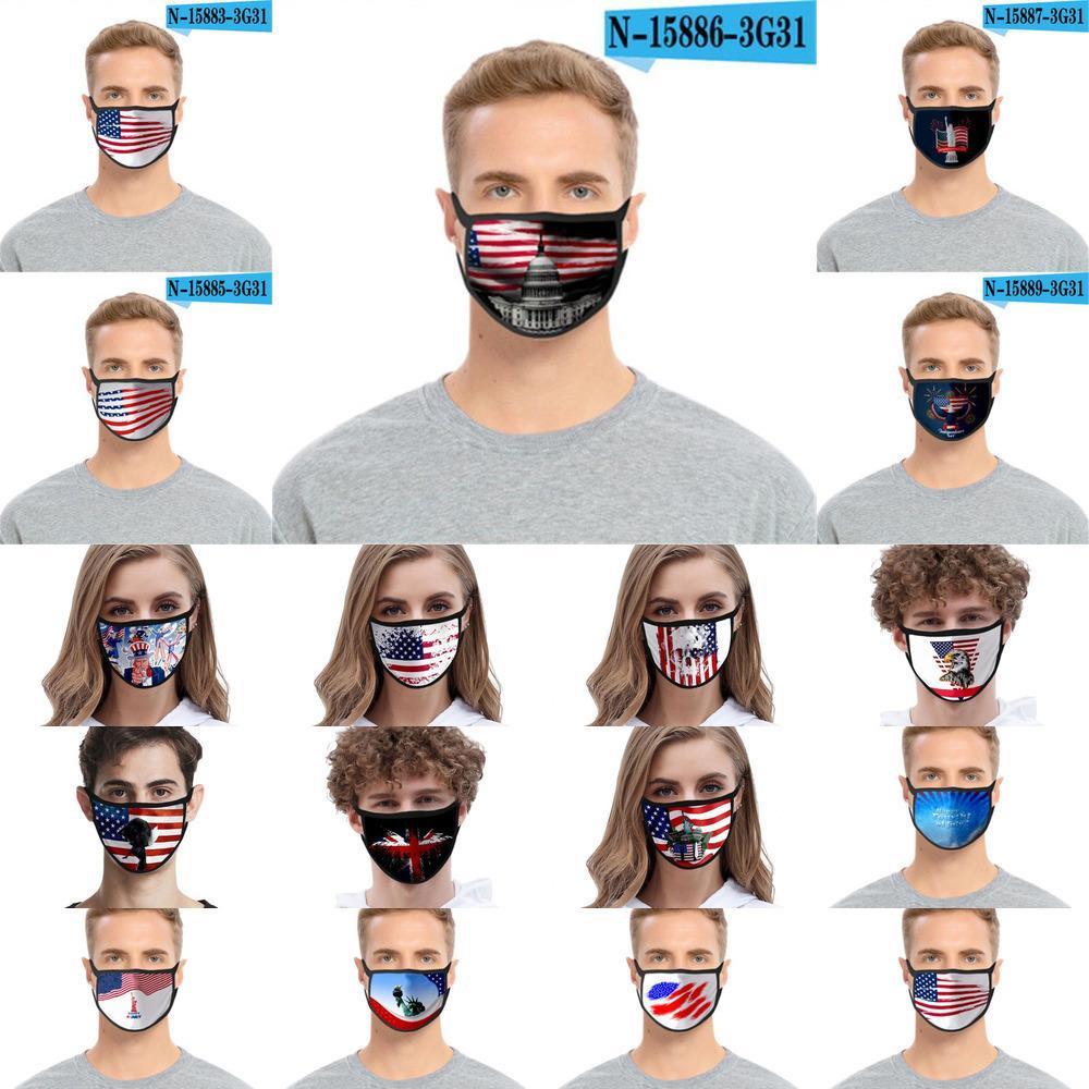 Máscaras Moda lavável 3d dos desenhos animados Impresso Designer Cotton Mouth Máscaras PM2.5 Dustproof e 7rvb