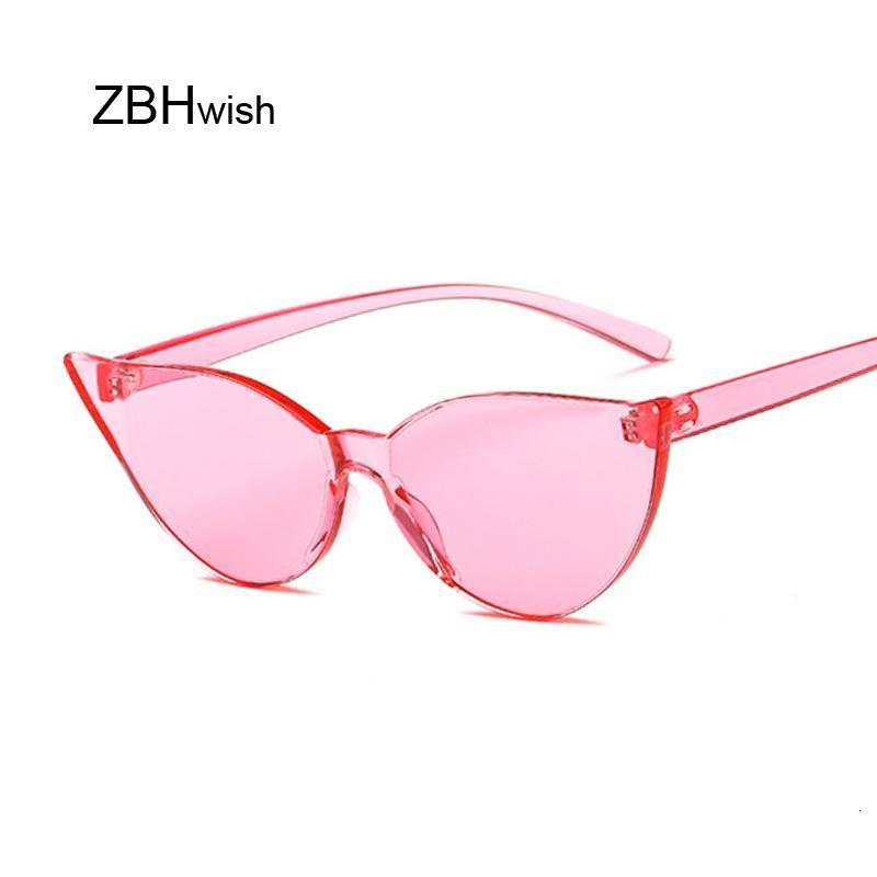 UV400 Прохладный Прекрасный розовый глаз Солнцезащитные очки Cat Мода женщин сексуальное Для ретро Brand New Designer Симпатичные ВС Очки Урожай дамы ZdrNO nana_home