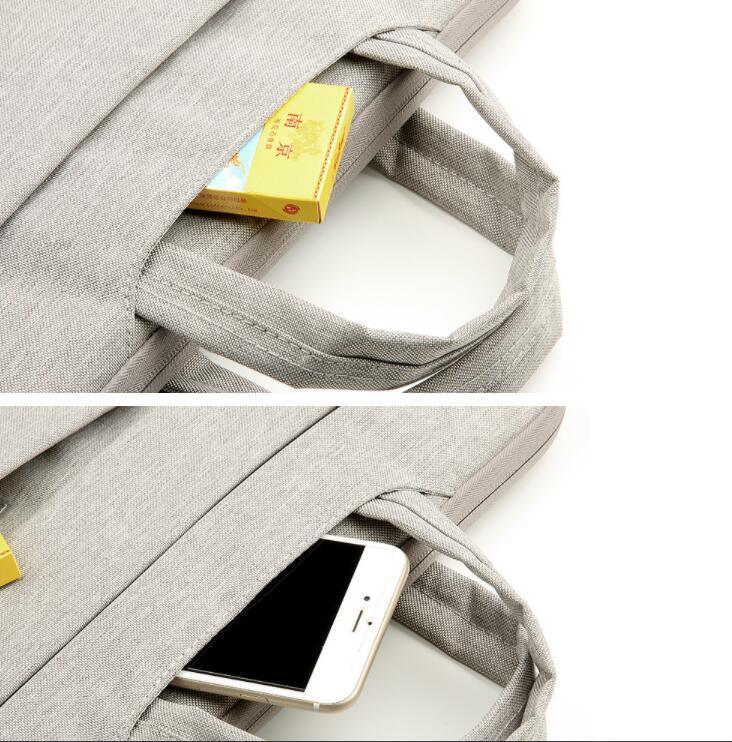 Housse pour ordinateur portable Sac pour MacBook Air 13 pouces 11 Pro Retina 12 13 15 poignée sac portable bandoulière 14 15,6 '' Laptop