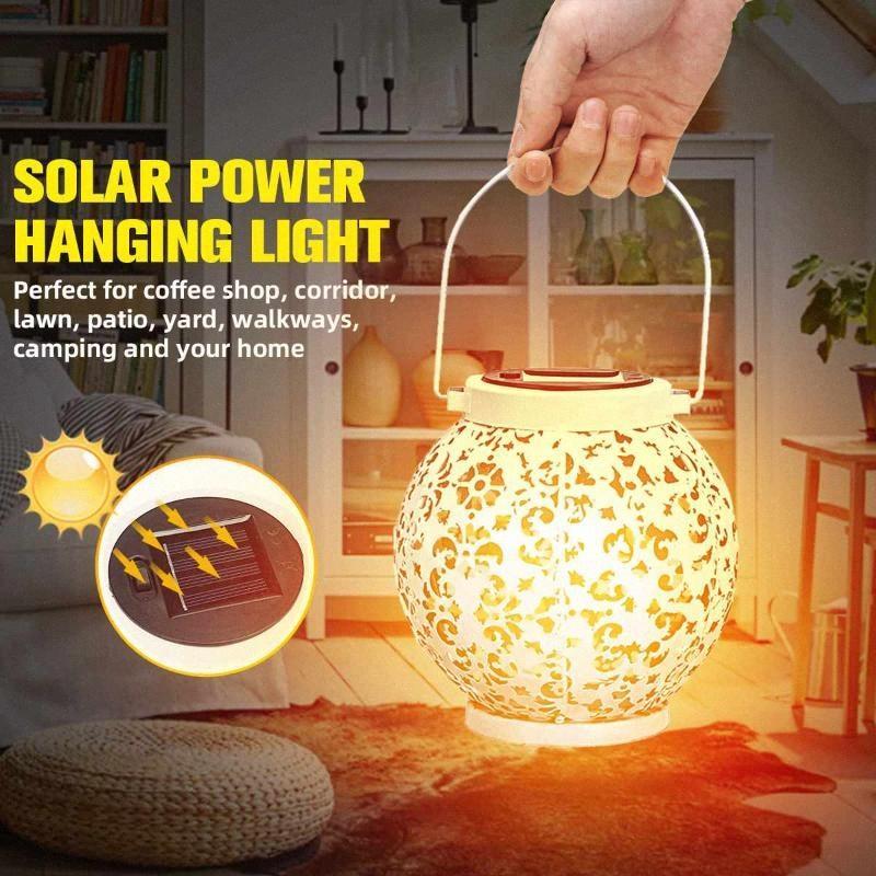 Lámpara solar impermeable al aire portátiles encendido de la llama de la batería de emergencia llevada que acampa Senderismo excursión la caza de energía de la lámpara linterna decorativo z4rU #