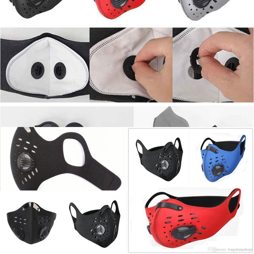 Hom protectora mitad de equipos por hogar 1 frente a la formación de la máscara anti-contaminación Correr Activatmfxi O2e4
