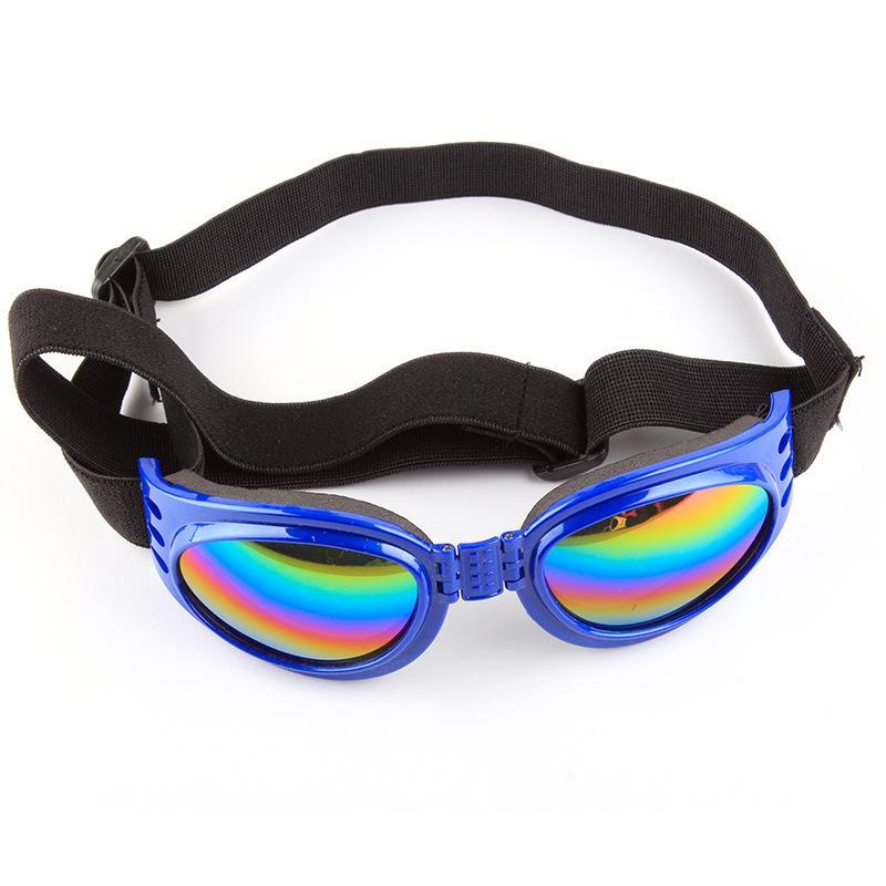 5Pcs/lot Dogs Pets Accessories Pull Wind Fashion Foldable Pet Glasses Dog Sunglasses Windproof and Moth Proof Sunglasses Pet Supplies