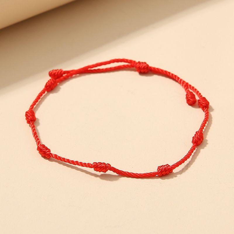2020 heiße Verkäufe Red String Armband für den Schutz Evil Eye Good Luck Amulett für Erfolg und Wohlstand Freundschaftsarmband