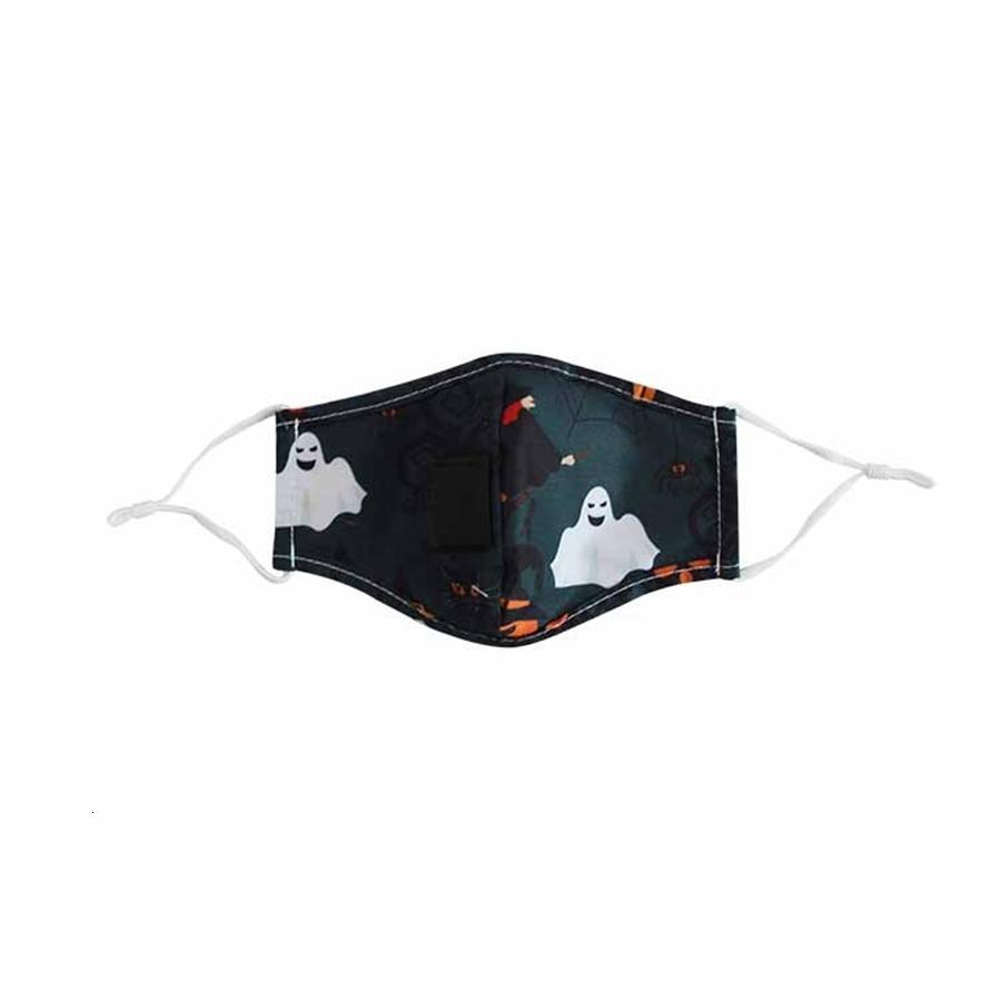 Anti-Staub Er PM2.5 Anti-Staub-Mund Halloween Straw Maske Staubdichtes Anti-l Waschbar Wiederverwendbare Schwamm Gesicht