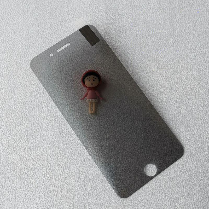 Para iphone 6 7 8 PLUS Privacidade tela de vidro temperado Protector LCD Anti-Spy Film protetor de tela tampa Wipes da tela do telefone