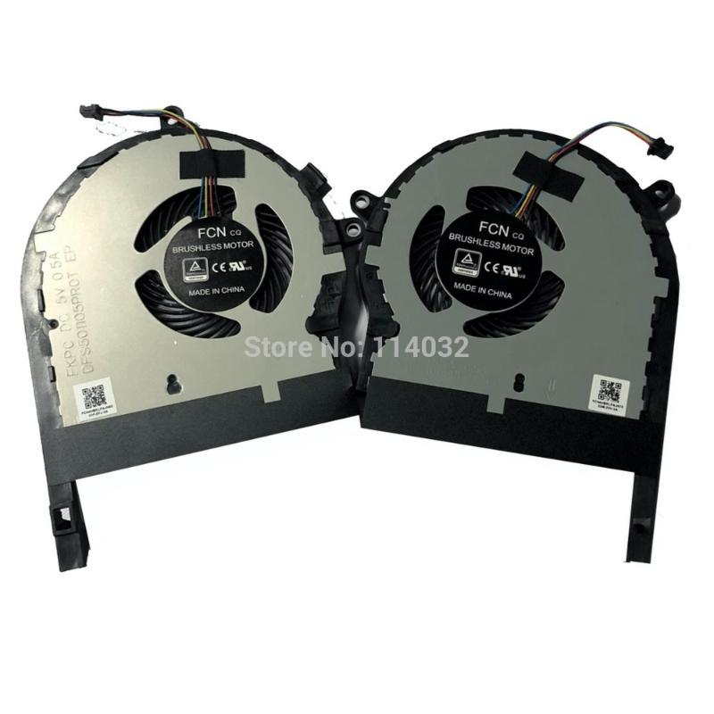 Computer Fans Cooling for ASUS TUF Gaming fx504g FX504GE FX504GD FX504GM Themal VGA CPU GPU Fan 13NR00J0P02011 13NR00J0P01021