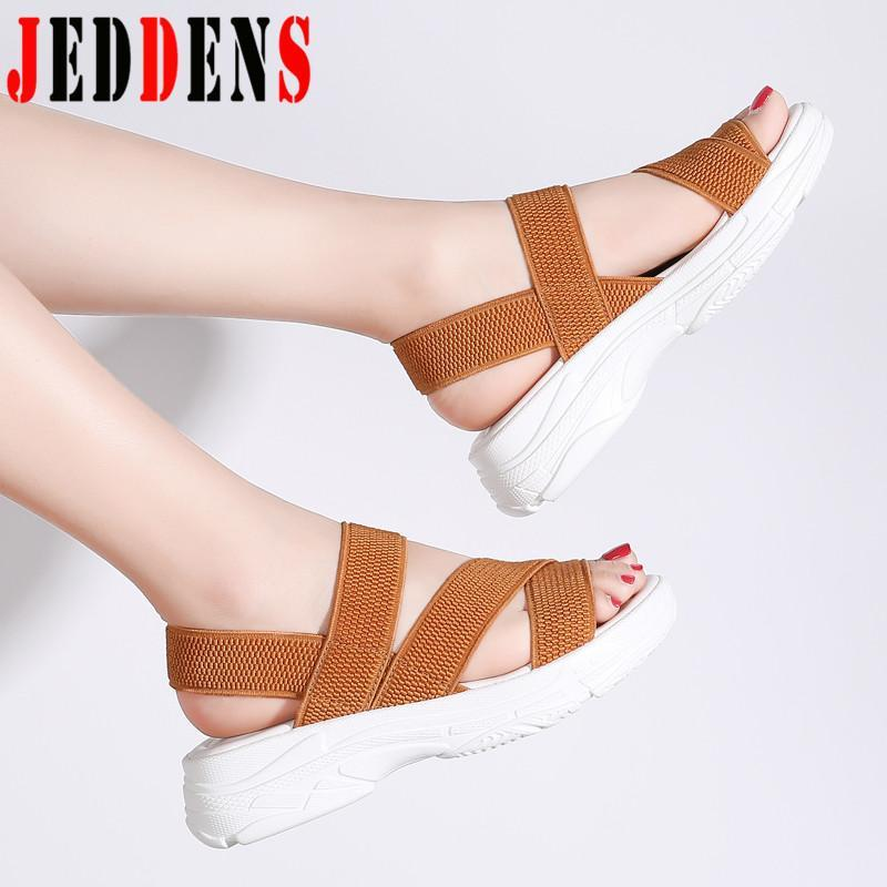 Peep-Toe Damen Sandalen Big Size Frauenschuhe Hot Summer Hausschuhe für Frauen reizvolle beiläufige Schuh-Frauen beliebte Plattform Sandalen