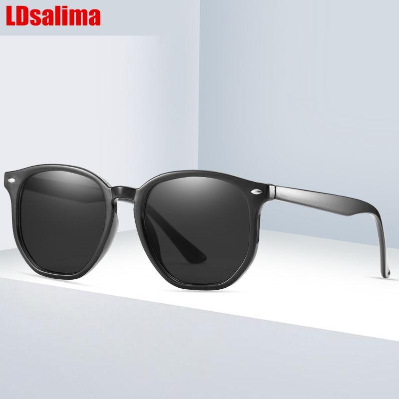 Lunettes de soleil 2021 Mode Hommes and Women rond Tac Lens Brand Designer de la marque Sun lunettes UV400