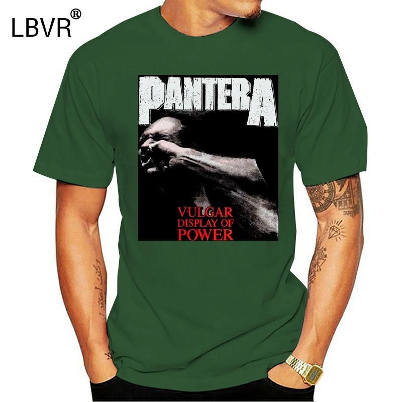 Amplificado shirt exibição Pantera Vulgar de Black Power