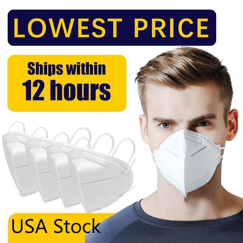 Anti-Fog-freie US-Aktien Versand PM2.5 Gesichtsmasken Filter Staubdichtes Particulate Respirator Schützen Gesundheit Ihrer Familie Mask
