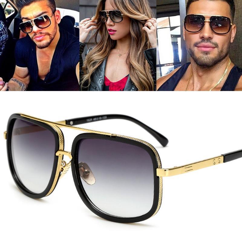 Hommes hommes femmes Gafas Femmes pour lunettes Square Square Soleil Sol Lunettes de soleil Sunglasses Femmes Sun 2020 BXVWP