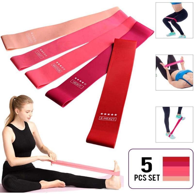Yoga Tirer la corde Résistance de remise en forme Expander Ceinture de bande extensible Sangle de formation multi-fonction matériel pour la