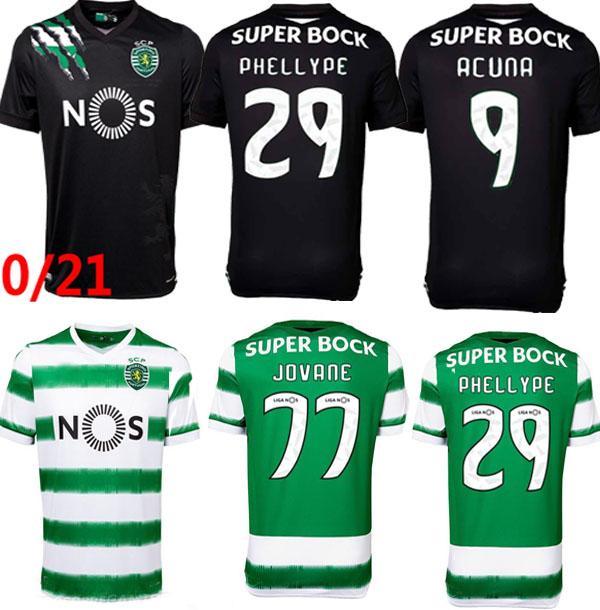 2021 Sporting CP 20 21 Lisboa Soccer Jerseys Vietto COATES ACUNA ...