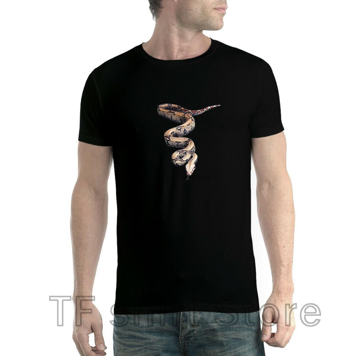 Drôle Imprimer Homme T shirt Femme refroidissent tshirt Python Serpent Animaux 3D T-shirt XS-5XL