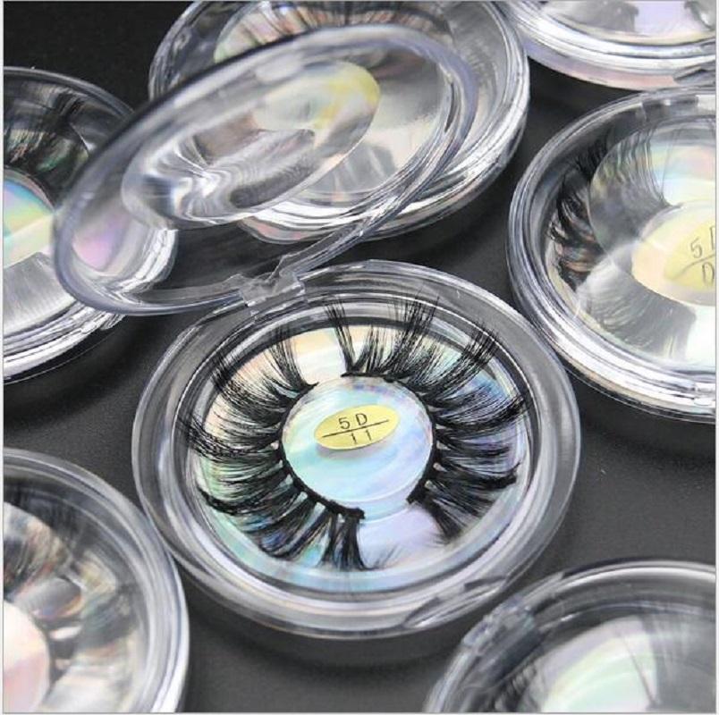 Popolare 5D ciglia finte 25mm fibra chimica esteso ciglia europee e le ciglia di visone spessa imitazione americani