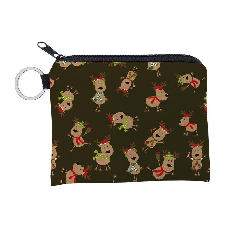 الجملة عيد الميلاد هدية عملة المحفظة ماء البسيطة المحفظة حقيبة كول المحمولة بطاقة القضية حامل مفتاح
