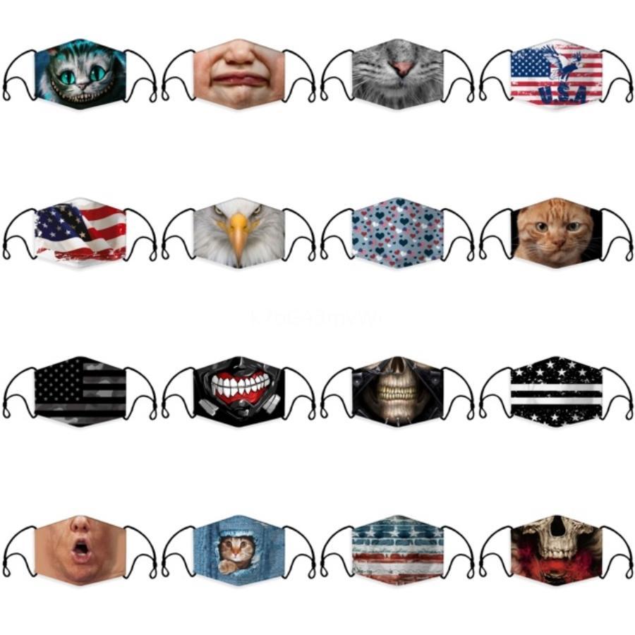 Solid Color Blank Dust Mask Black Face Mask Washable Cartoon Adult Children Cloth Mask Earhook Housekeeping Designer Masks T2I5943#897